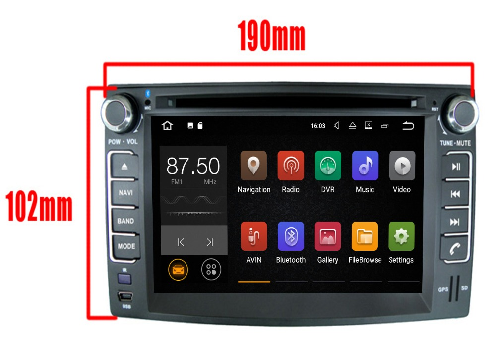 4G LTE Android 8.0 4G/android 7.1 2DIN AUTO LETTORE DVD Multimedia GPS RADIO PC Per KIA CEED 2006 2007 2008 2009 3G WIFI OBD DVR