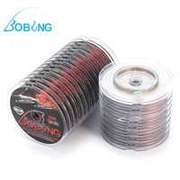 Bobing 3Plates Set Fishing Lines 300M Polyethylene Multi Colors 4 Strands Braided Line Tackle Tool Accessories