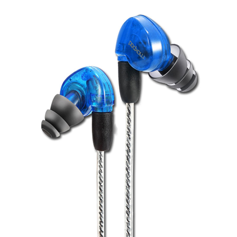 Original Moxpad X6 In-ear sport Earphones with Microphone Hifi Bass earbuds Handsfree for iPhone 5s for samsung xiaomi earpods