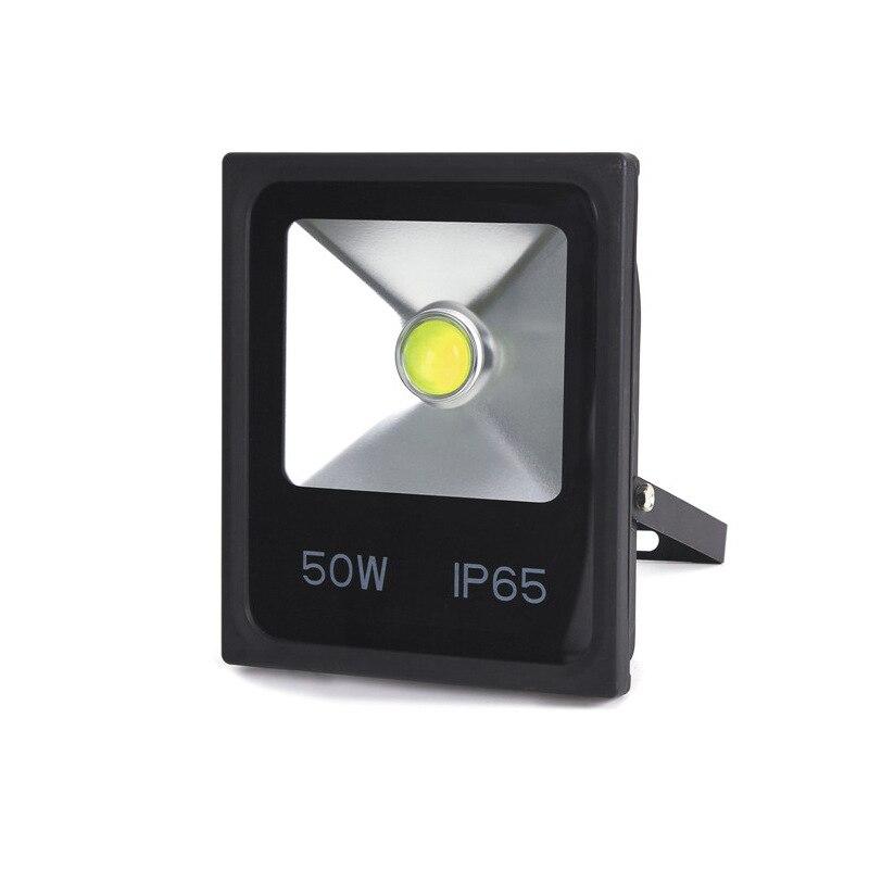 Светодиодный прожектор с регулируемой яркостью, 20 Вт, 30 Вт, 50 Вт, 60/90 градусов, светодиодное уличное освещение, 220 ~ 265 В, проектор для поиска са