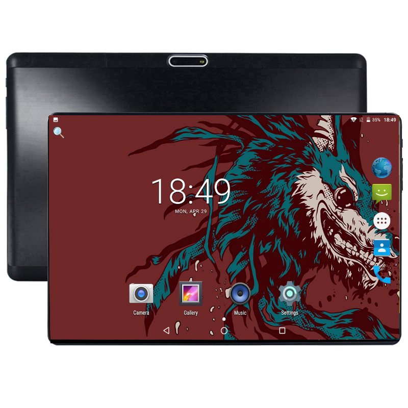 2019 New 10 Inch Tablet Android 8.0 Octa Core 5MP Camera 4G+64G WiFi Bluetooth Tablet Dual Sim 4G Network Phablet With Gift