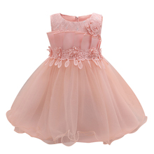 Unique Pink Baby Dress