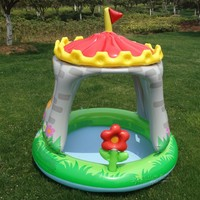 Cute Baby Swimming Pool at Home, Big Space Baby Pool, Infant Bath Tub, Thicker, Pneumatic, Evinormental PVC,