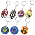 Football Club Key Chain Crown Alloy Metal Key Rings For Women Men Chaveiro Car Keychain Jewelry Key Holder Souvenir