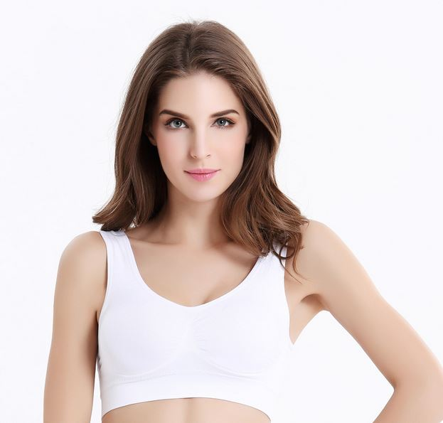 Sports Bras Vest Top Seamless Fitness Bras Tops Body Shappers Push Up Wire Free Full Cup Comfortable Bra