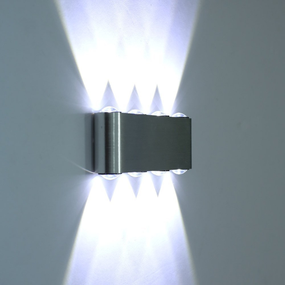 8w Led Wall Sconce Lamp Lights For Hotel Aisle Step Hall Bedside Up Down Indoor Decorative Lighting Multi Colored Light In Lamps From