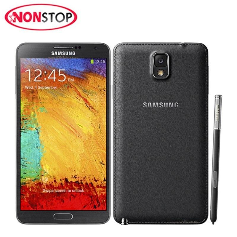 Samsung Galaxy Note 3 Unlocked Smartphone 16gb 3gb Nfc Quad Core 13mp Refurbished Back-Camera