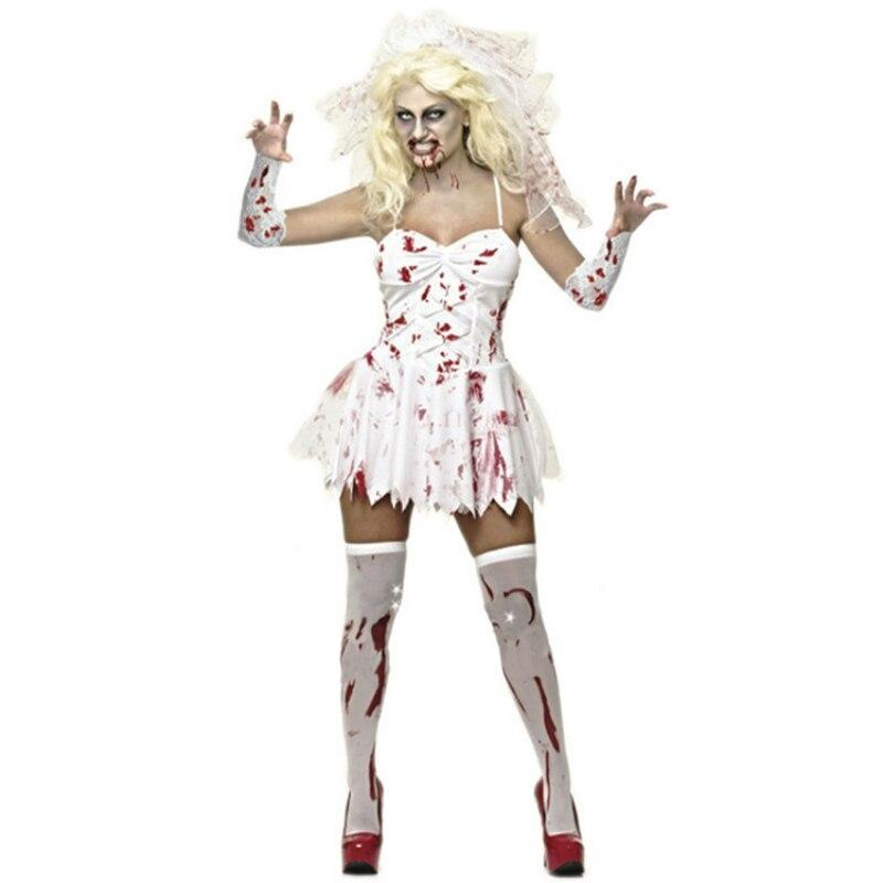 Deadpool traje adulto hombres Rompers Ghost Bride mujeres vestido Anime  Cosplay para Diablo vampiro Horrible Halloween Partido de Carnaval en  Disfraces ... a8eef6a1d77c