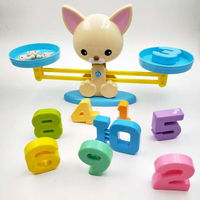 Board game Monkey Seaweed Pig Match Math Balancing Scale Number Balance Game Children Educational Toy