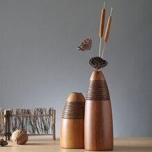 modern resin creative Retro flowers vase vintage statue home decor living room crafts decoration office figurine