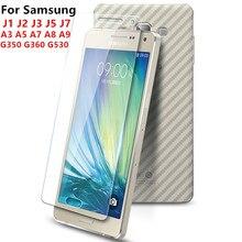 MLLSE HD tempered glass For Samsung  J1 J2 J3 J5 J7 2016 A3 A5 A7 A8 A9 S6 edge S7edge screen protector glass film for J5