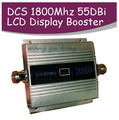 4G LTE FDD banda 3 + DCS impulsionador repetidor ganho 55dbi LCD função de exibição 1800 Mhz DCS mobile phone signal booster e 4G repetidor