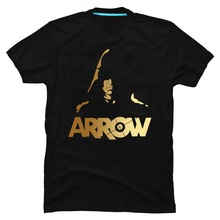 New Justice League Green Arrow t shirt O-Neck The fashion Su