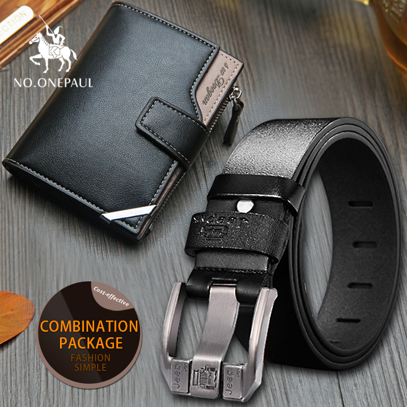 set/sets suit  casual genuine leather belt High quality cowhide retro buckle fashion mens