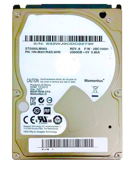 2.55400 rpm 32m ST2000LM003 9.5mm hdd for laptop notebook computer fast shipping original 2T hard drive 2Tb 2000Gb hard disk