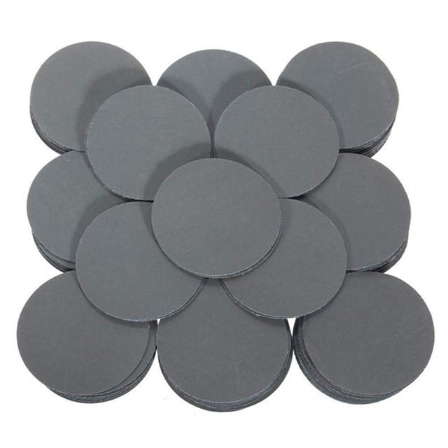 100 stücke 3000 Grit Schleif Sand Discs Schleifen Polieren Pad Schleifpapier 50mm Schleifen Disc Polnischen Schleifpapier Disk Sand Blätter grit
