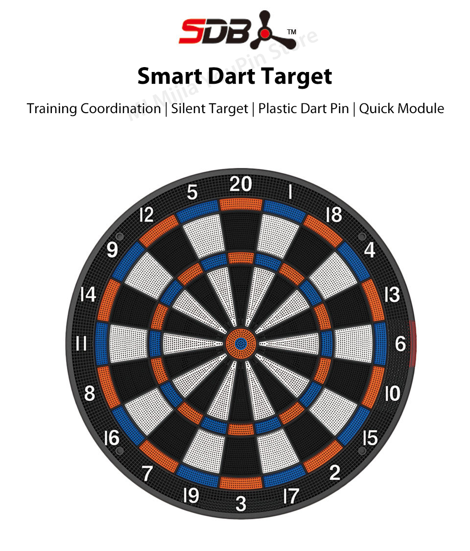 Xiaomi Youpin SDB Smart Dart Target Youth Edition A1 Bluetooth Connect Internet Share Data Enjoy Battle Search Smartdartboard (1)