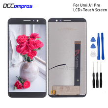 For UMI Umidigi A1 Pro LCD Display Touch Screen Digitizer Assembly Repair Parts For UMI A1 Pro Screen LCD Display Free Tools