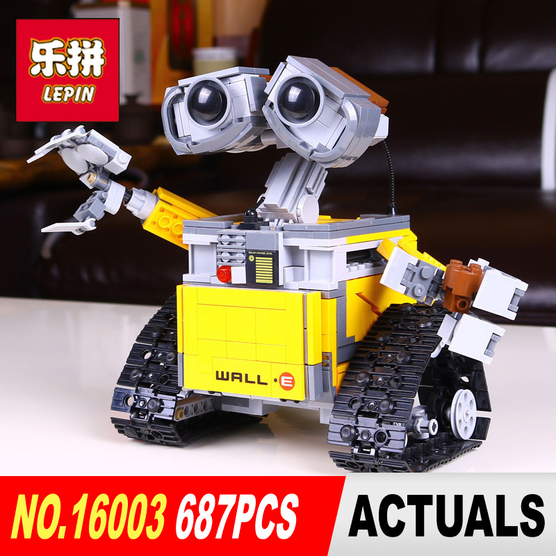 2017 New Lepin 16003 Idea Robot WALL E Building Set Kits Toys Educational Bricks Blocks Bringuedos 21303 for Children DIY Gift hot sale 1000g dynamic amazing diy educational toys no mess indoor magic play sand children toys mars space sand