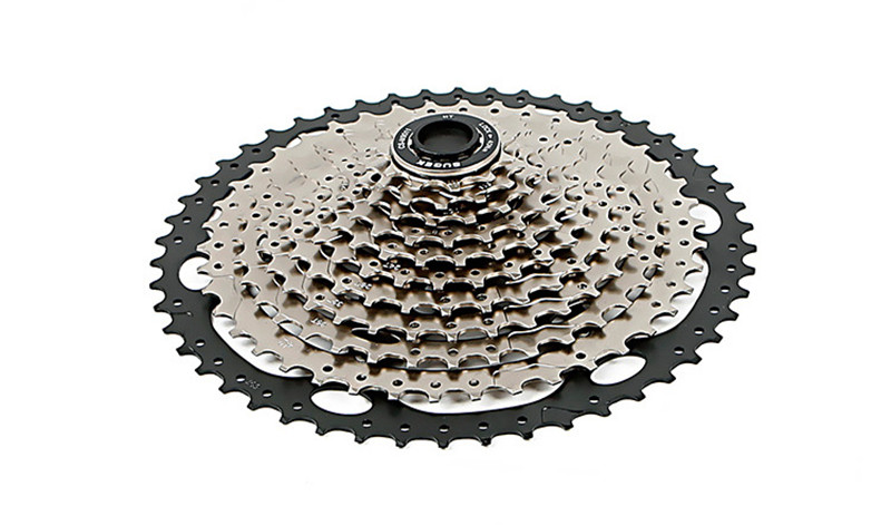 SUGEK Wide Ratio Cassette Bicycle Freewheel MTB Mountain Road Bike Bicycle 11-52T 11 Speed Freewheel Steel Highway FlywheelSUGEK Wide Ratio Cassette Bicycle Freewheel MTB Mountain Road Bike Bicycle 11-52T 11 Speed Freewheel Steel Highway Flywheel