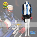 Hot Game Cosplay Clothes Women Soldier 76 Jacket Cosplay Costume Halloween Party Apperal Clothing and Accessories Custom Made