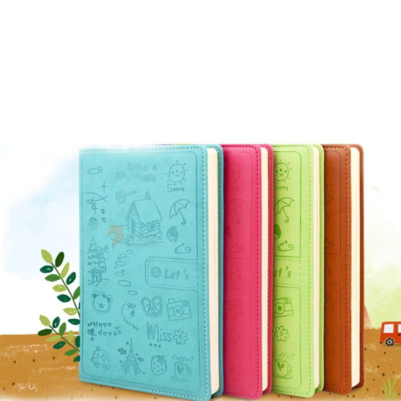 Cute Diary leather Notebook paper A5 A6 120 sheets personal diary Notepad Creative note book Office School Supplies GiftCute Diary leather Notebook paper A5 A6 120 sheets personal diary Notepad Creative note book Office School Supplies Gift