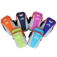 New Arrive Jogging Bag Sport Armband Gymnasium Case Cowl Unisex Operating Bag For Cell Cellphone iPhone 6/6 Plus