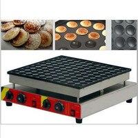110V/220V Commercial 100pcs Non stick Dutch Pancake Machine Mini Waffle Poffertjes Maker Machine