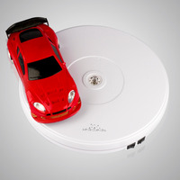 10in Led Light Top Electric Motorized Rotating Display Turntable For Model Jewelry Display Stand Or 4k