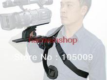 Manos Libres Cámara de Apoyo Soporte de Hombro para dslr canon nikon Cámara de Vídeo Videocámara DV