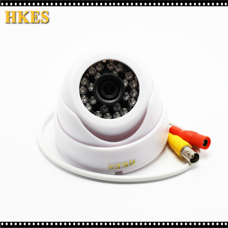 Wide Angle Surveillance Security Camera 24 LED IR Color CCD Indoor Dome CCTV AHD CAM 1080P 960P 720P yehuda shinar think like a winner