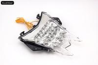 Integrated LED Rear Tail Light Brake Turn Signal Blinker Lamp Clear For BMW S1000R 2014 2016, S1000RR 2010 2016, HP4 2013 2015