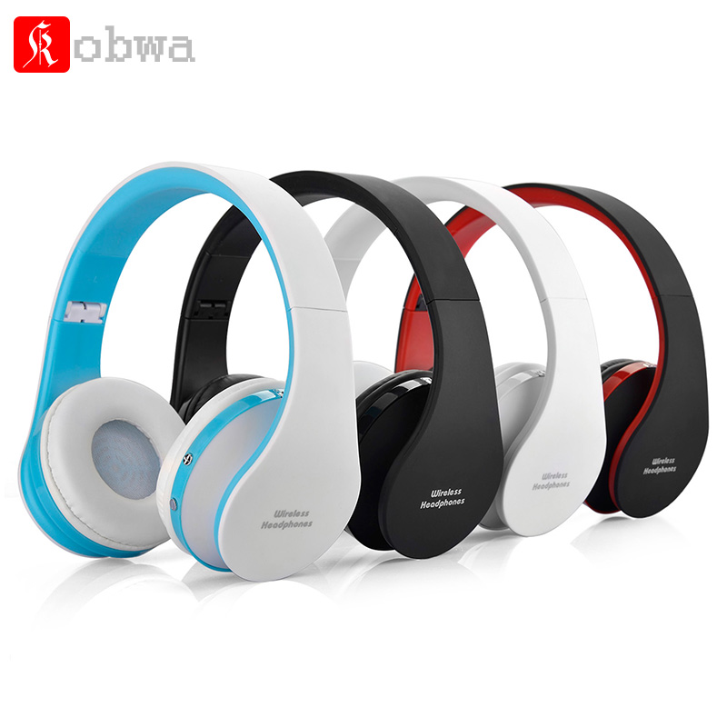 Foldable Headphones Wireless Bluetooth Headset Stereo Earphone Cordless headsets for Computer PC Head Phone head Set economic set original nia q1 8 gb micro sd card a set bluetooth headphone wireless sport headsets foldable bluetooth earphone