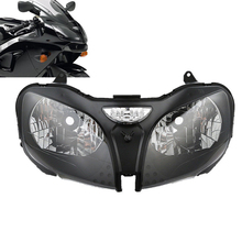 Motorcycle Headlight Head Lamp Assembly For Kawasaki Ninja ZZR600 ZX6R 00-02 ZX9R 00-03