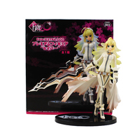 Fate Stay Night Saber Action Figure Saber in White Dress Anime Beauty Model Toy for Collection