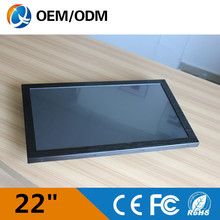 Industrial Panel PC 22″ touch screen 1680X1050 panel pc wifi & bluetooth optional all in one PC with Intel I5 4460 3.2GHz
