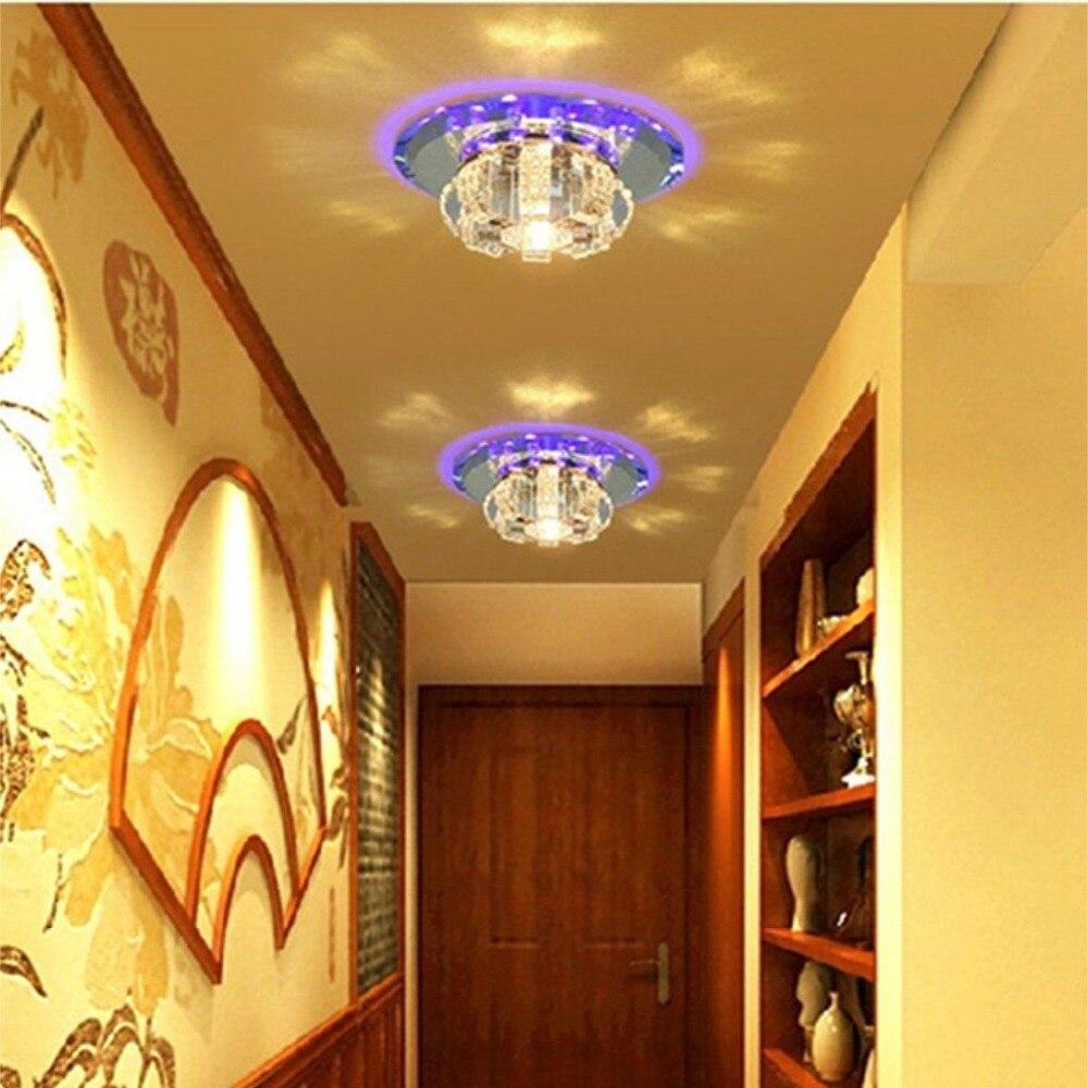 HTB1YI0BatfvK1RjSszhq6AcGFXae ANTINIYA Modern Crystal LED Ceiling Lamp Ceiling Light Fixture Lighting Ceiling Lights For Living Room Aisle Corridor Kitchen