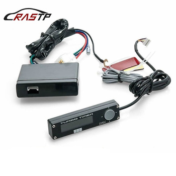 Rastp-universal 12V cyfrowy automatyczny regulator czasowy Turbo niebieski biały czerwony podświetlenie wyświetlacza ledowego do akcesoriów samochodowych z Logo RS-BOV002 tanie i dobre opinie Napęd elementy Iso9001 4 cylinder 000inch 0 4kg red light blue ligth white light Engine Compartment Drive Elements turbo timer