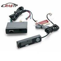 Rastp-universal 12v digital auto turbo timer controle azul/branco/vermelho led display luz para acessórios do carro com logotipo RS-BOV002