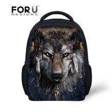 Pit Bull Dog enfants garçons et filles école sacs à dos loup impression cartables des enfants petite mode sacs à dos bébé voyage sacs