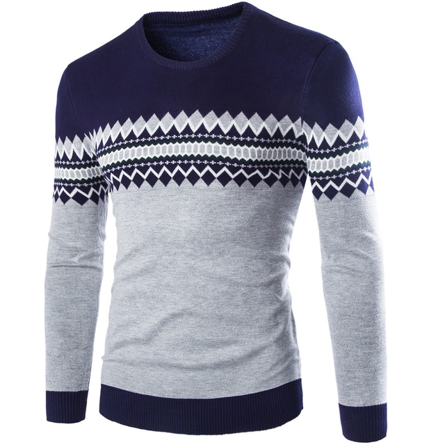 Autumn/winter 2016 sets new men sweater round collar of England