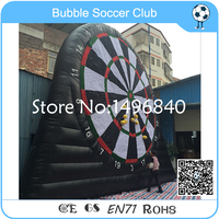 Free Shipping 6m/19.5ft New Model Inflatable Soccer Dart Game, Giant Inflatable Foot Dart Board For Sale