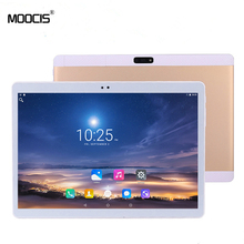 MOOCIS New 10 inch Octa Core tablet pc1920*1200 Original Design 4GLTE Phone Call Android 6.0  IPS pc  WiFi Bluetooth 4GB+32GB