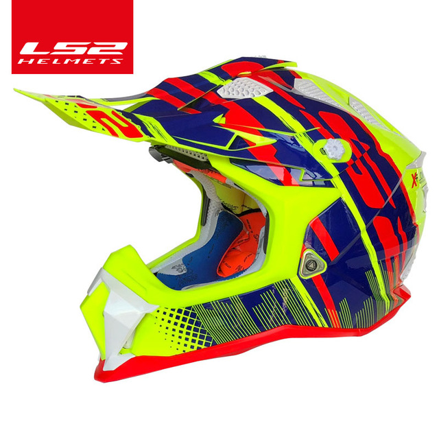 LS2 SUBVERTER MX470 Off road motocross helmet Innovative technology ATV Dirt Mountain Bike DH  Off Road Capacetes casque Helmet