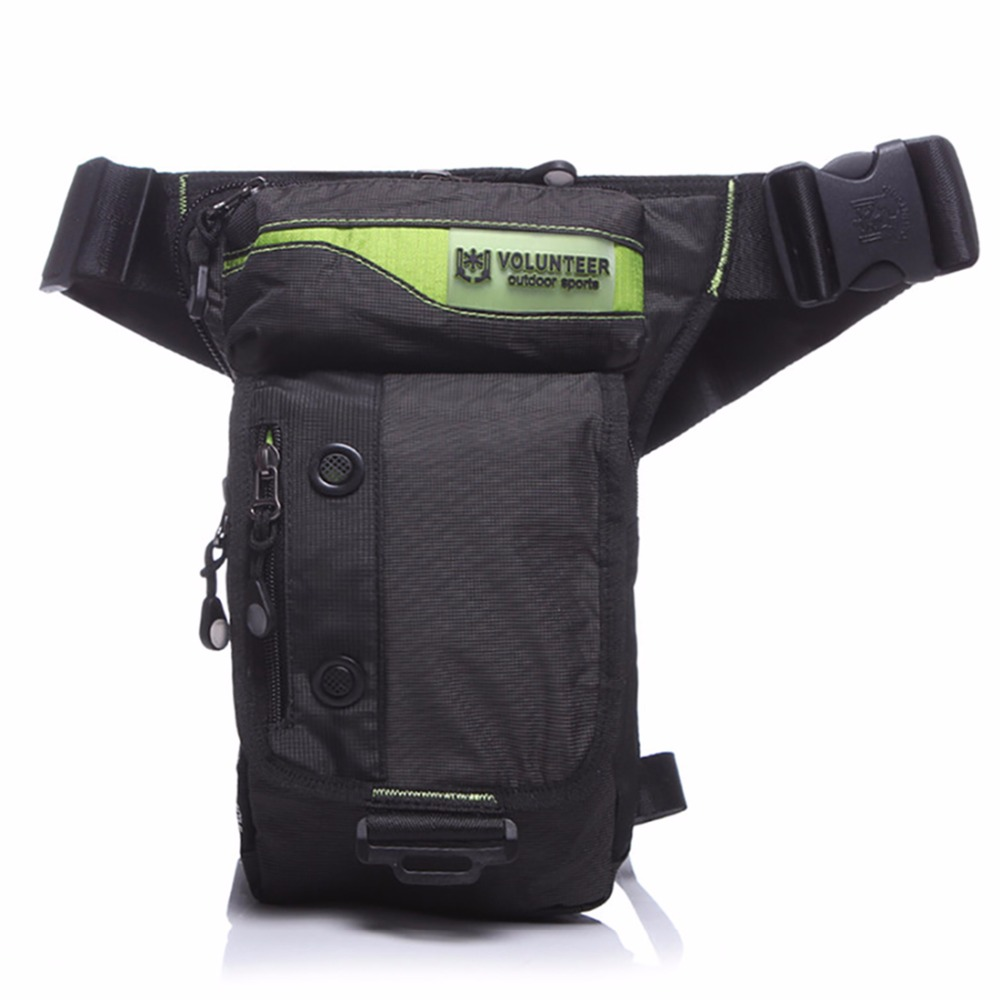 High Quality Waterproof Fanny Hip Bum Shoulder Bags Belt Pack Military Assault Riding Casual Oxford Men Waist Leg Drop Bag