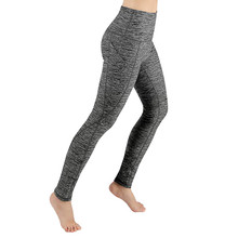 Slim Tight Sportswear Women Workout Out Pocket Leggings Fitness Sports Gym Running Yoga Athletic Pants Elasticized waistband6.41