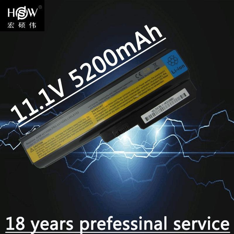 باتری لپ تاپ HSW FOR LENOVO G430 G450 G455A G530 G550 - لوازم جانبی لپ تاپ