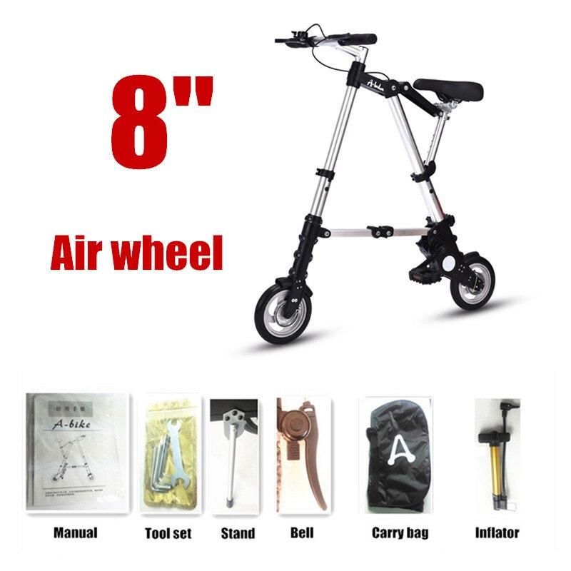 8 Air wheel silver