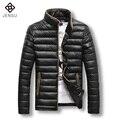 5XL Chaqueta de Los Hombres 2016 de La Moda de Invierno Por la Chaqueta Engrosamiento de Moda Casual Más Tamaño Parkas Chaquetas Y Abrigos A Prueba de Viento Outwear