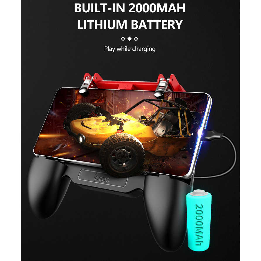 IPega джойстик для Android iPhone Телефон Pubg мобильный контроллер геймпад игровой коврик триггер Fre бесплатно пожарный игровой пульт мобильный телефон